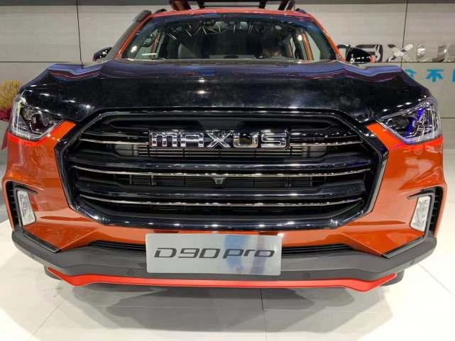 广州车展探营:野性动感 上汽MAXUS D90Pro实车