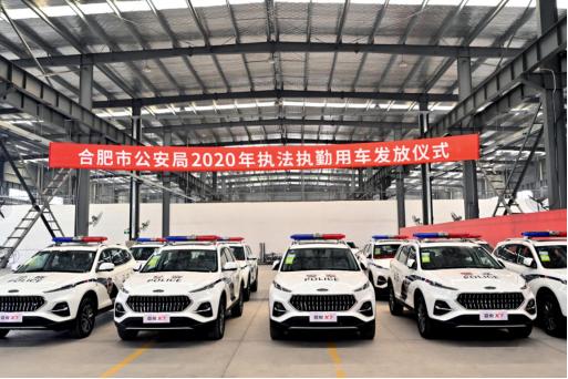嘉悦X7正式交付公安系统,德系品质大空间SUV值得信赖