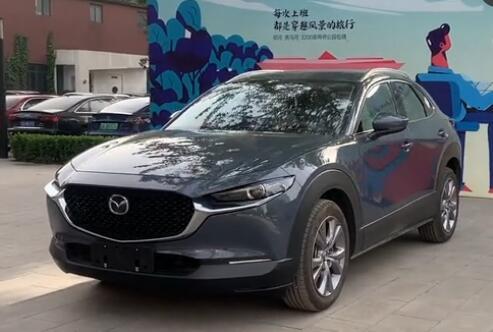 马自达全新跑旅SUV露出真容 搭2.0L发动机预售价12万起