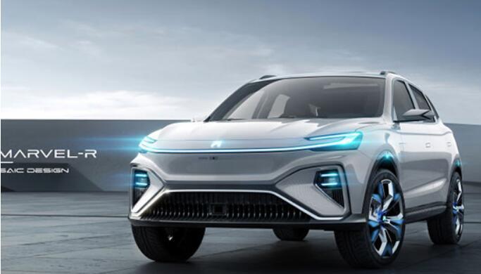 荣威R标5G量产SUV来了 Marvel-R外观首曝
