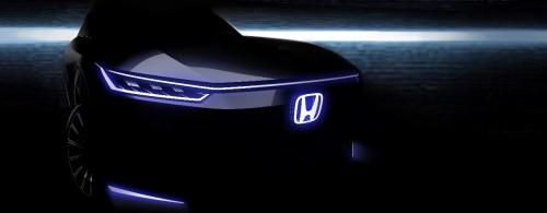 中国首款Honda品牌纯电动概念车 北京车展全球首发