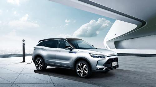 2020概念车RADIANCE及BEIJING-X7 PHEV联袂首发