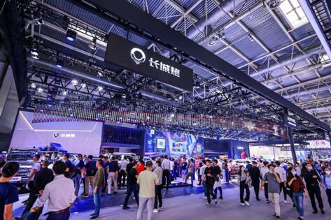 人气爆棚 弹幕齐飞!长城汽车焕新演绎2020北京车展网红展馆