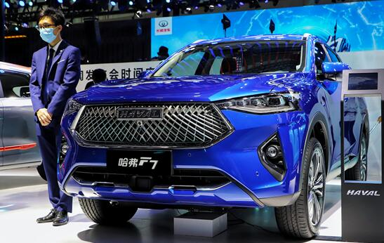 媒体大咖专属PICK 2021款哈弗F7实力闪耀广州车展