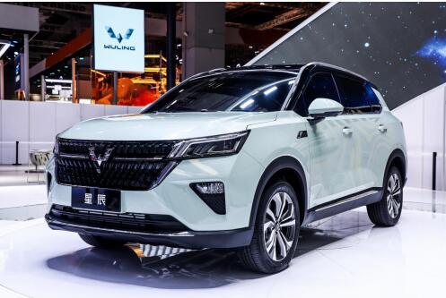 正式命名星辰,五菱全球银标首款战略型SUV上海车展重磅来袭