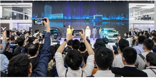 新技术、新产品、新计划:WEY品牌精彩亮相上海车展,打造智能出行新生态,驶入智混发展新赛道